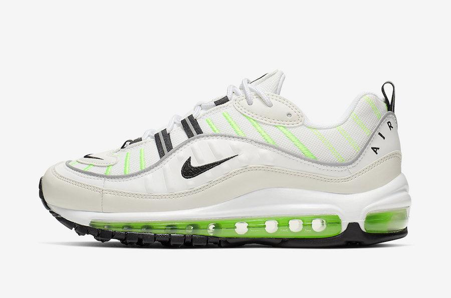 air max 98 lime green