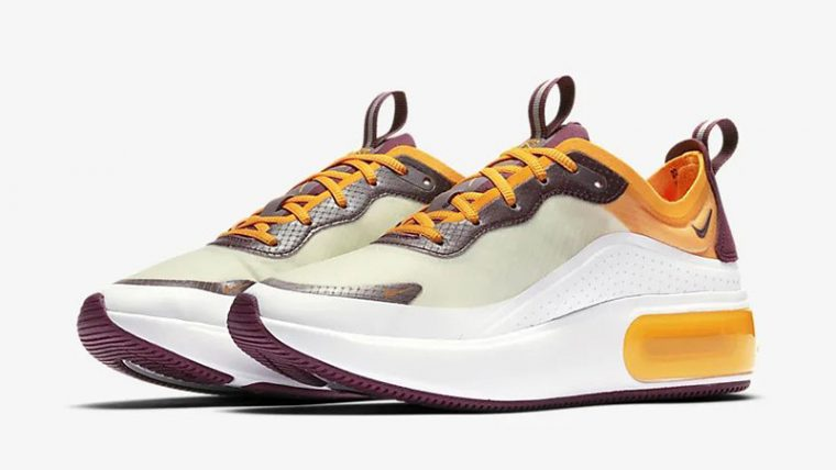 Nike Air Max Dia SE Orange Bordeaux AR7410-103 front thumbnail image