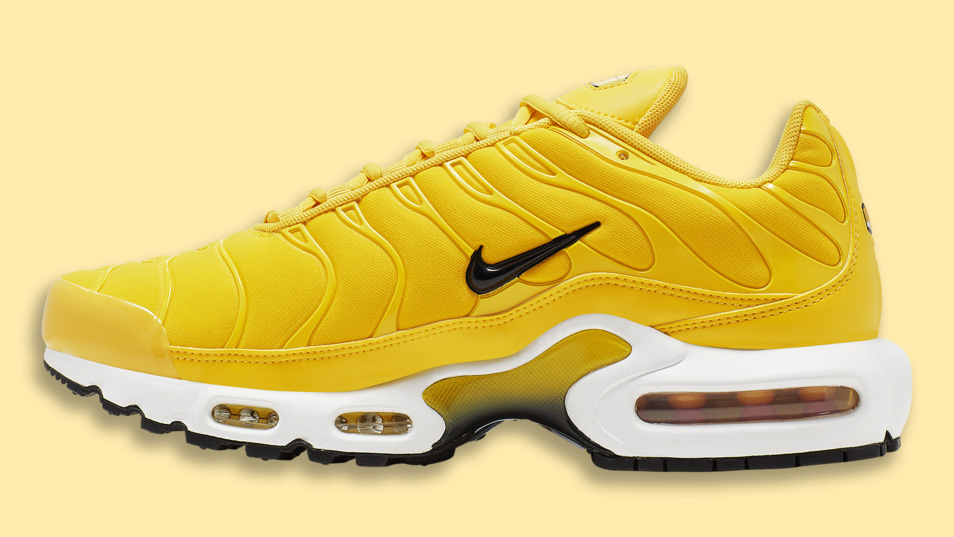 This Yellow Nike Air Max Plus Is An Ultimate Summer Vibe ...