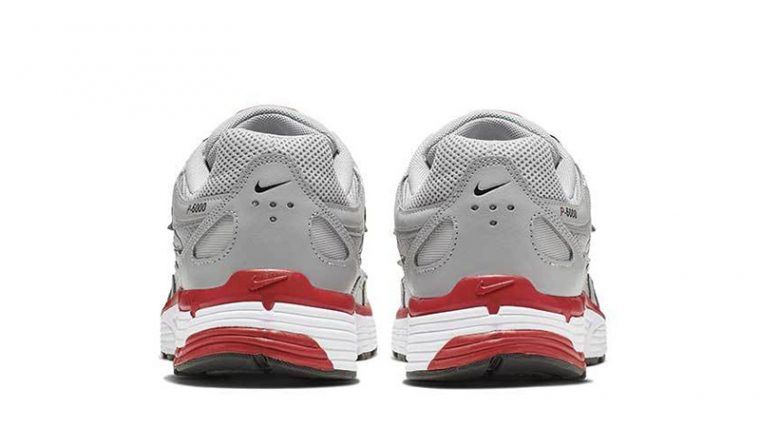 Nike P-6000 Silver Red CD6404-001 back thumbnail image