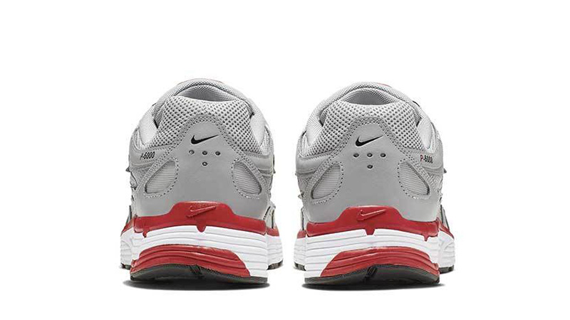 Nike P-6000 Silver Red CD6404-001 back