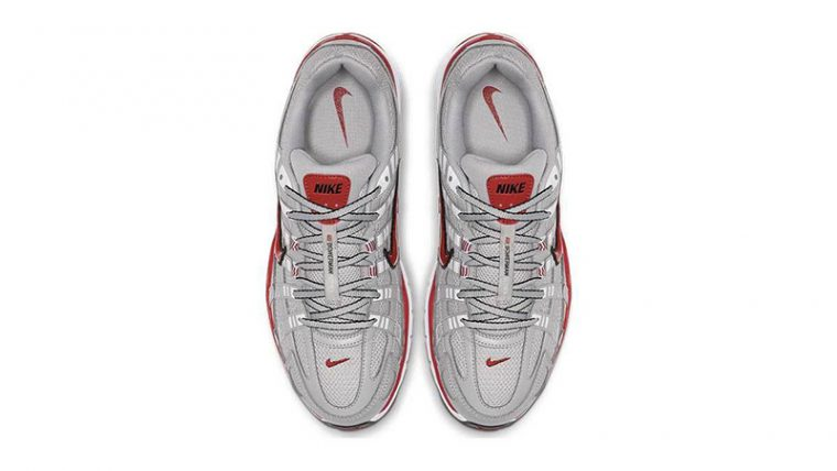 Nike P-6000 Silver Red CD6404-001 middle thumbnail image
