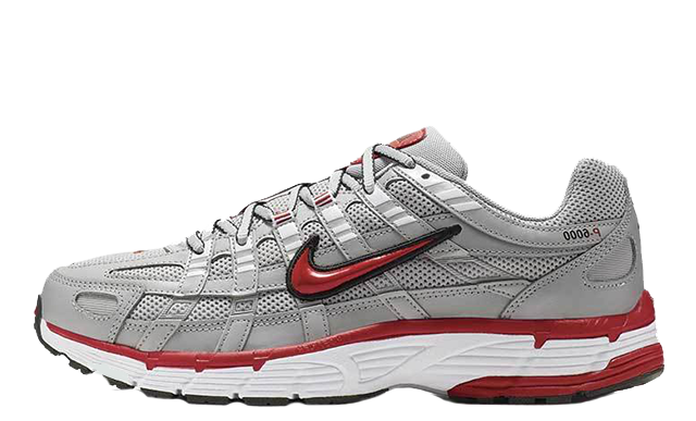 Nike P-6000 Silver Red CD6404-001 thumbnail image