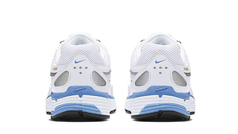 Nike P-6000 White Blue BV1021-103 back