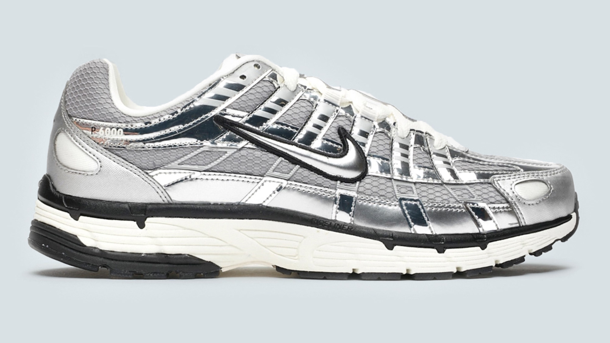 Stand Out From The Crowd In The Nike P-6000 'Metallic Silver ...