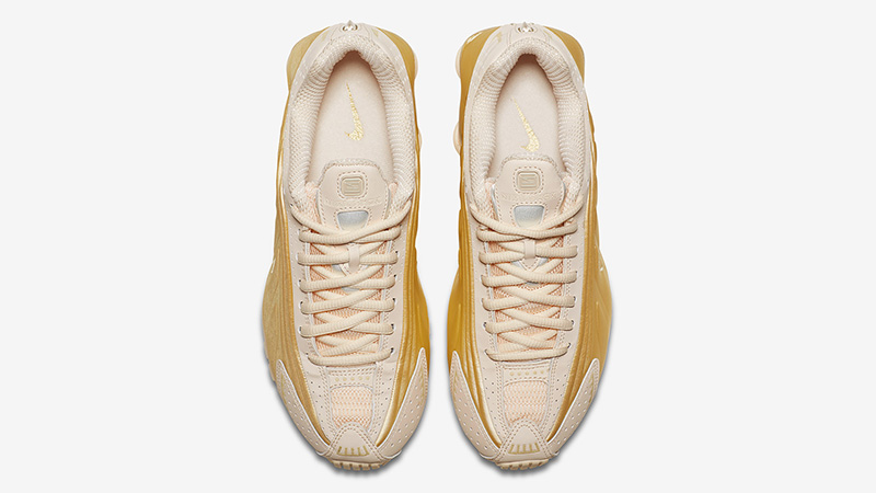 Nike Shox R4 Guava Ice AR3565 800 middle