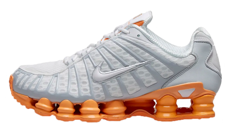 Nike Shox TL Silver Orange | AR3566-101