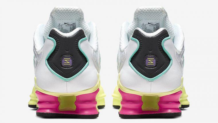 Nike Shox TL White Multi back thumbnail image