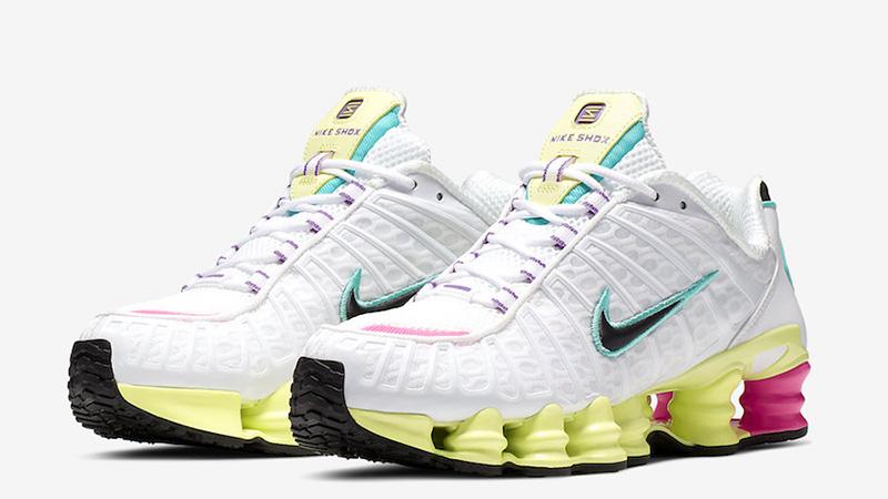 Nike Shox TL White Multi front