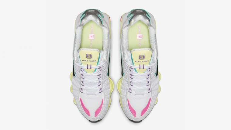 Nike Shox TL White Multi middle thumbnail image