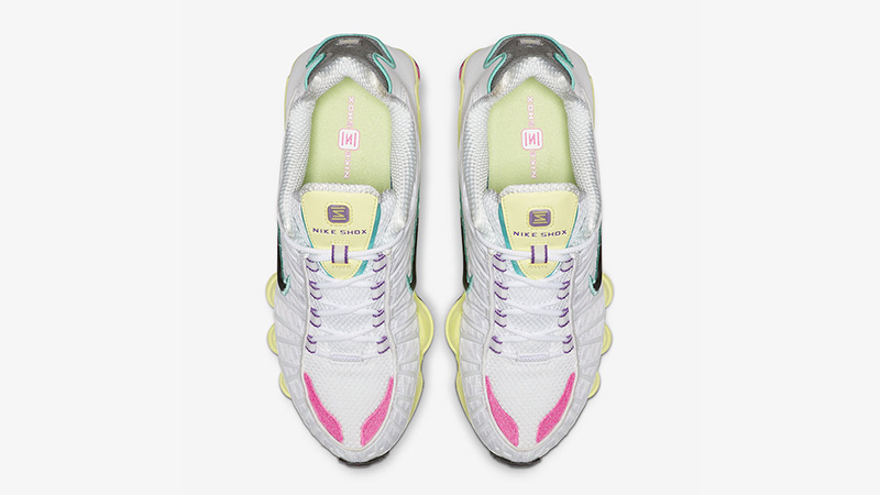 Nike Shox TL White Multi middle