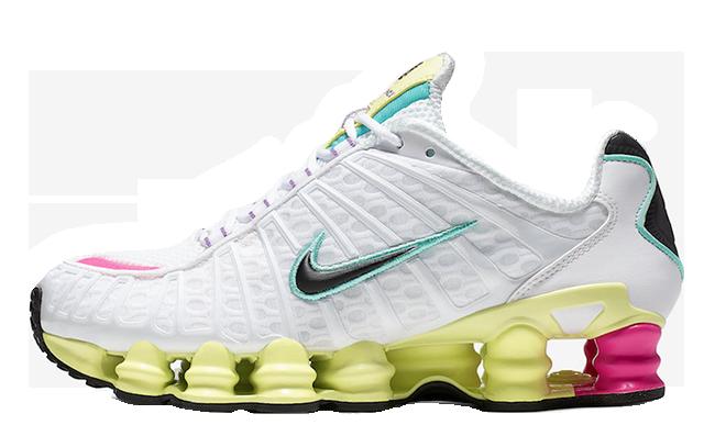 Nike Shox TL White Multi