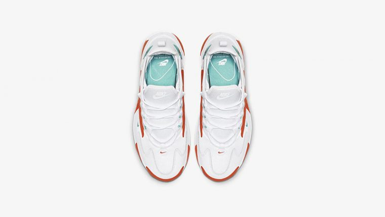 Nike Zoom 2K White Orange AO0354-105 middle thumbnail image