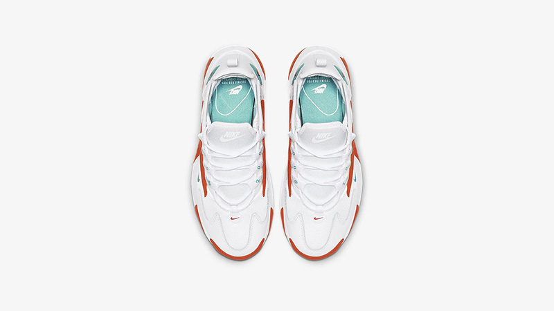 Nike Zoom 2K White Orange AO0354-105 middle