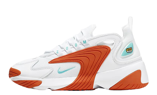 Nike Zoom 2K White Orange AO0354-105