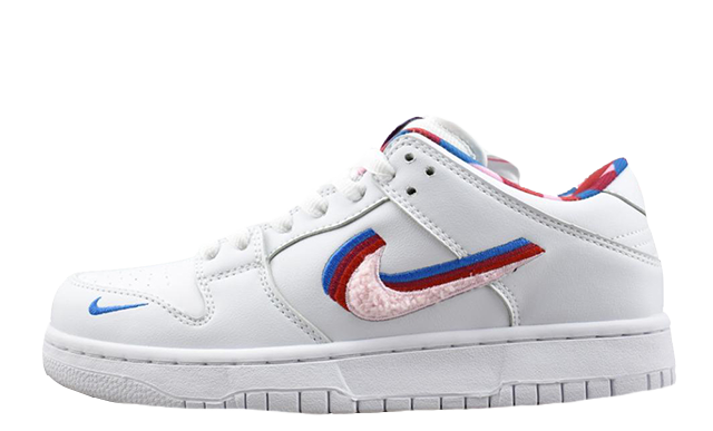 Parra x Nike SB Dunk Low White