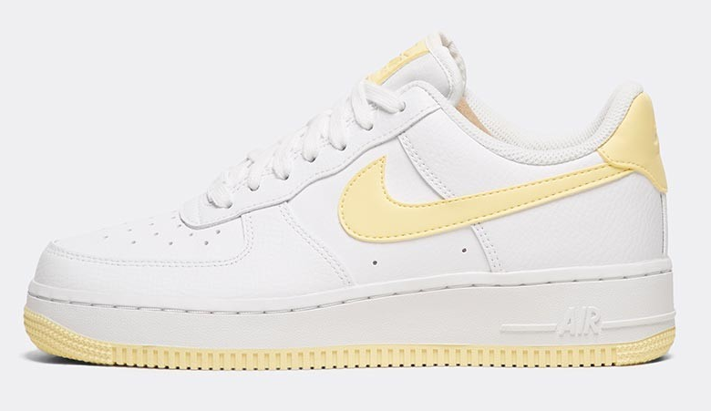 Nike Air Force 1 Yellow White