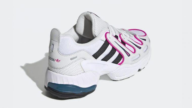 adidas EQT Gazelle White Pink EE6486 back thumbnail image