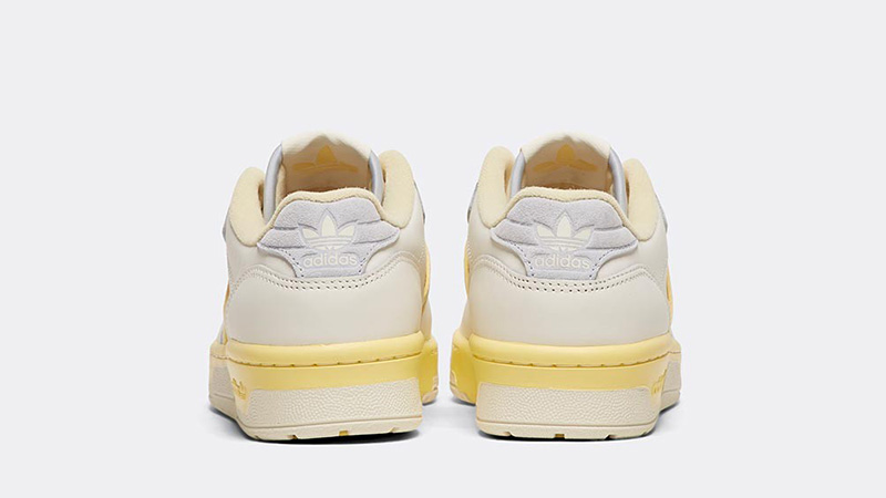 adidas Rivalry Low White Yellow back