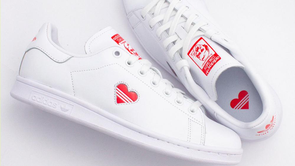 adidas stan smith heart 2019