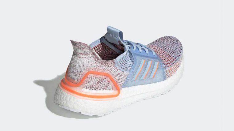 adidas Ultra Boost 19 Glow Blue G27483 back thumbnail image