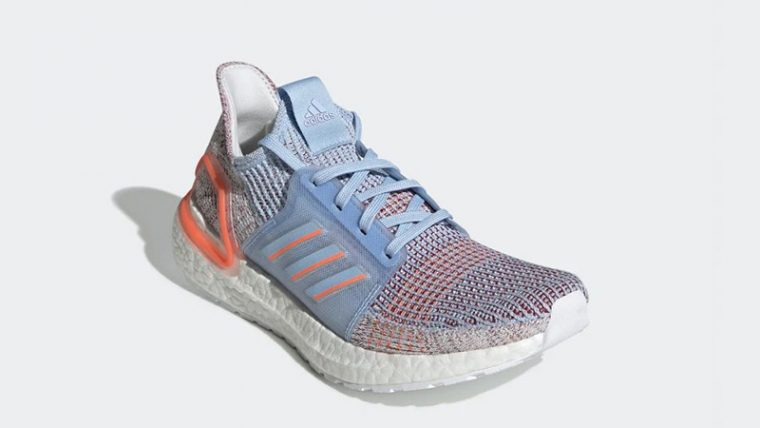 adidas Ultra Boost 19 Glow Blue G27483 front thumbnail image