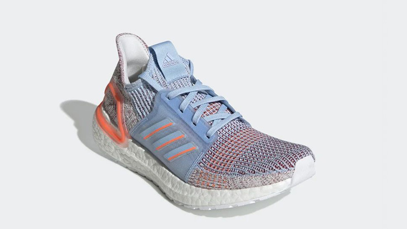 adidas Ultra Boost 19 Glow Blue G27483 front