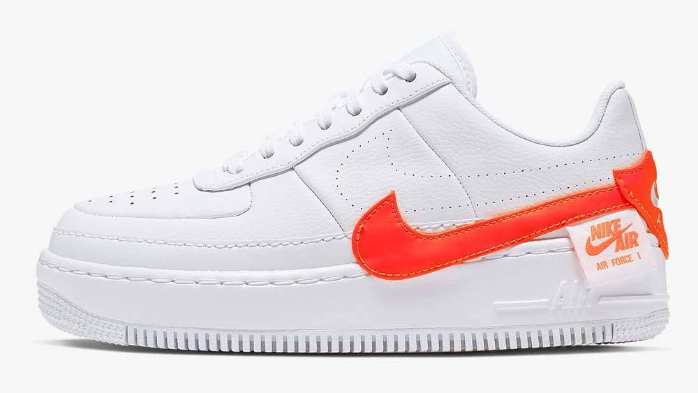 Nike Air Force 1 Jester XX White Orange