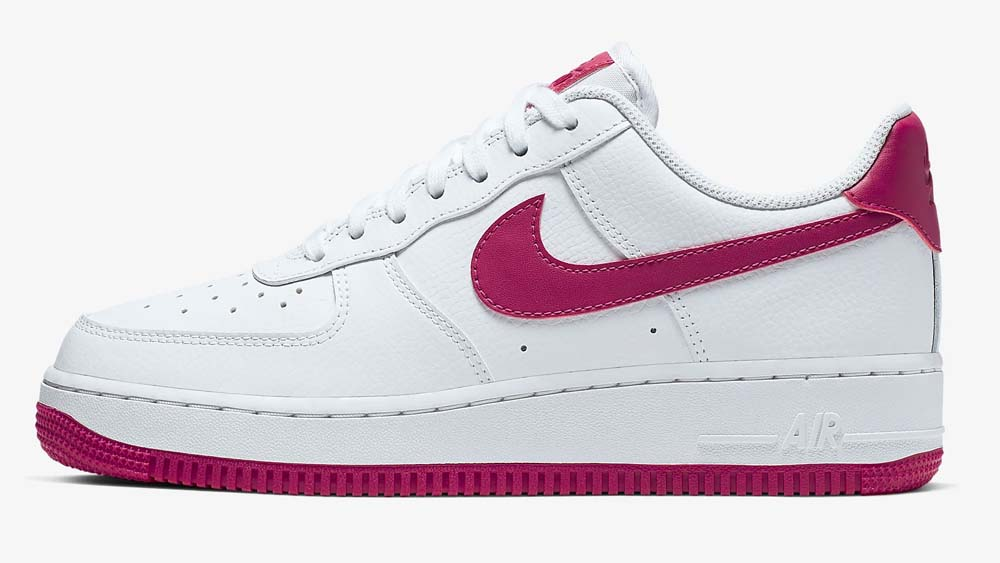 Nike Air Force 1 Wild Berry White