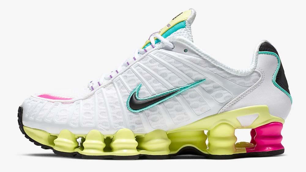 Nike Shox TL Pink Luminous Green