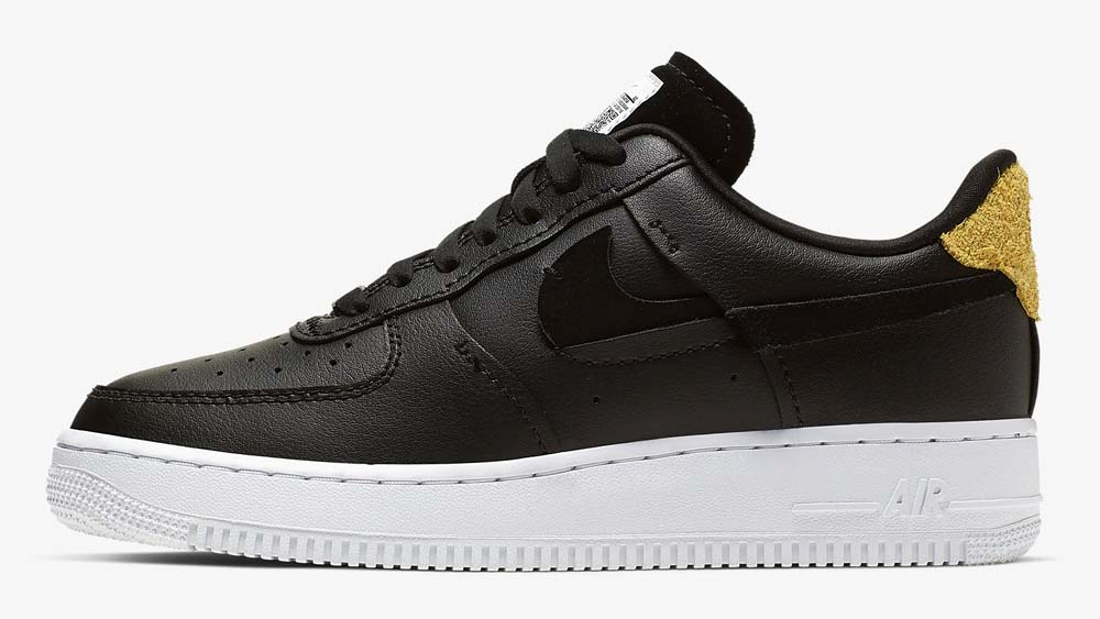 Nike Air Force 1 Inside Out Black