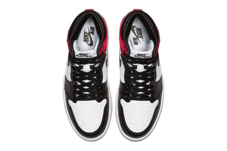 Air Jordan 1 High Retro OG Satin Red Black Toe | CD0461-016 thumbnail image