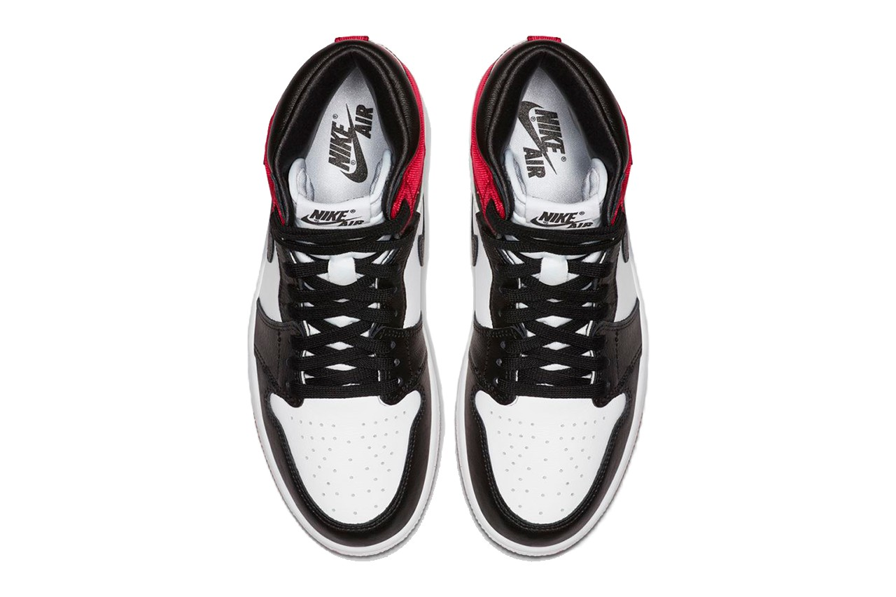 Air Jordan 1 High Retro OG Satin Red Black Toe | CD0461-016