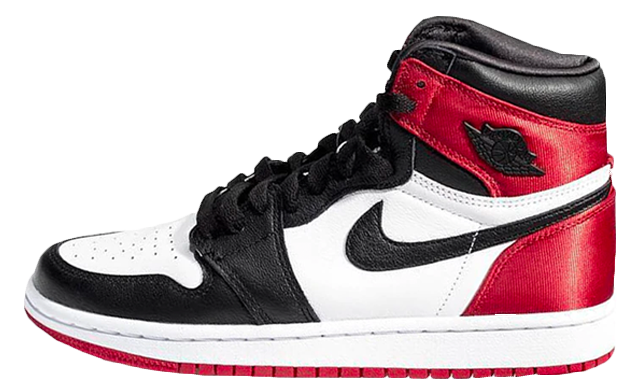Air Jordan 1 High Retro OG Satin Red Black Toe | CD0461-016