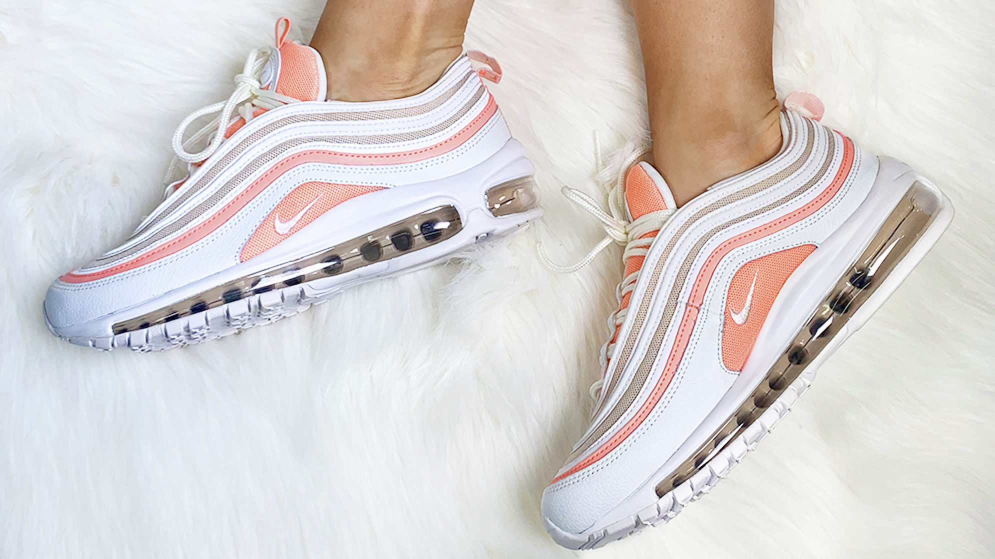Air Max 97 Bleached Coral The Sole Womens