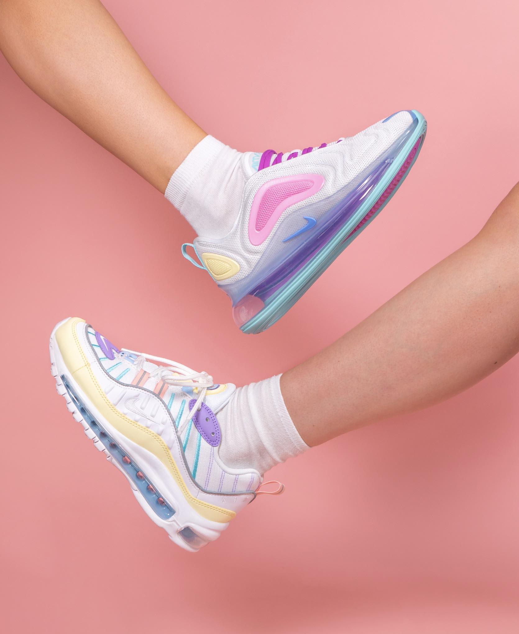 An Exclusive Closer Look At The Nike Air Max 98 & Air Max 720 Pastel Pack