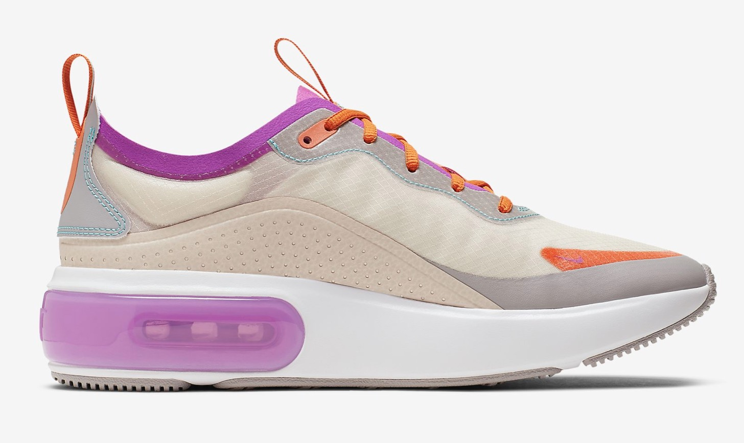 Nike Air Max DiaLight Orewood Brown/Starfish/Atmosphere Grey/Hyper Violet inner wall
