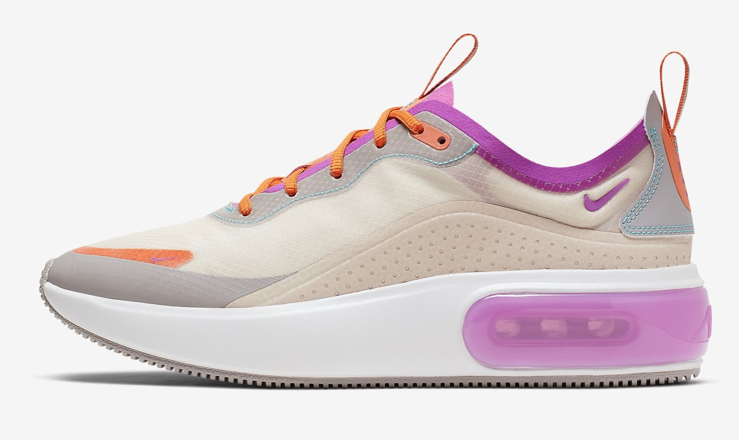 Nike Air Max DiaLight Orewood Brown/Starfish/Atmosphere Grey/Hyper Violet outer wall