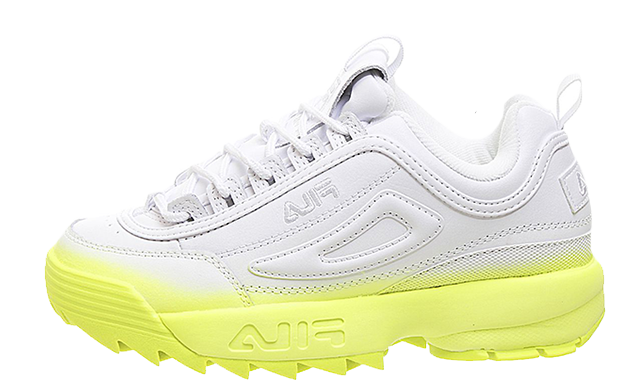 Fila Disruptor II White Yellow