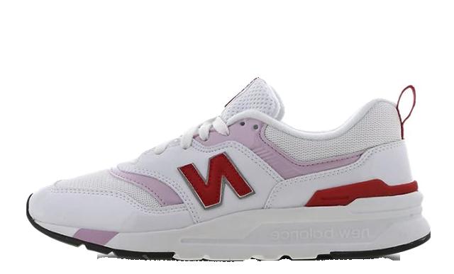 New Balance W997 White Pink