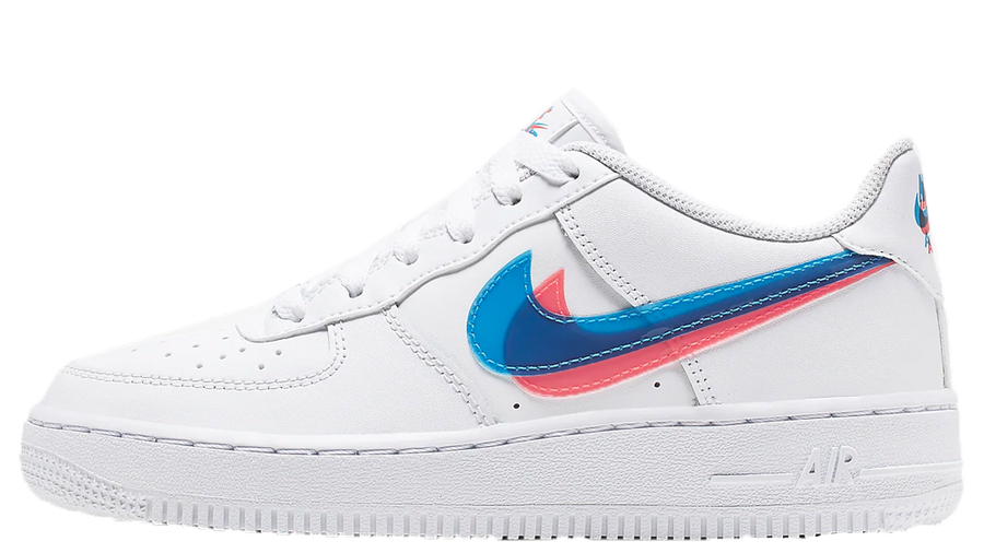 lámpara Incorrecto medio litro  Nike Air Force 1 LV8 3D White   Where To Buy   BV2551-100   The Sole Womens