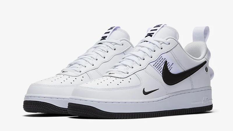 Details zu Nike Air Force 1 07 LV8 Ul Utility Weiß Black Herr Frau CQ4611 100