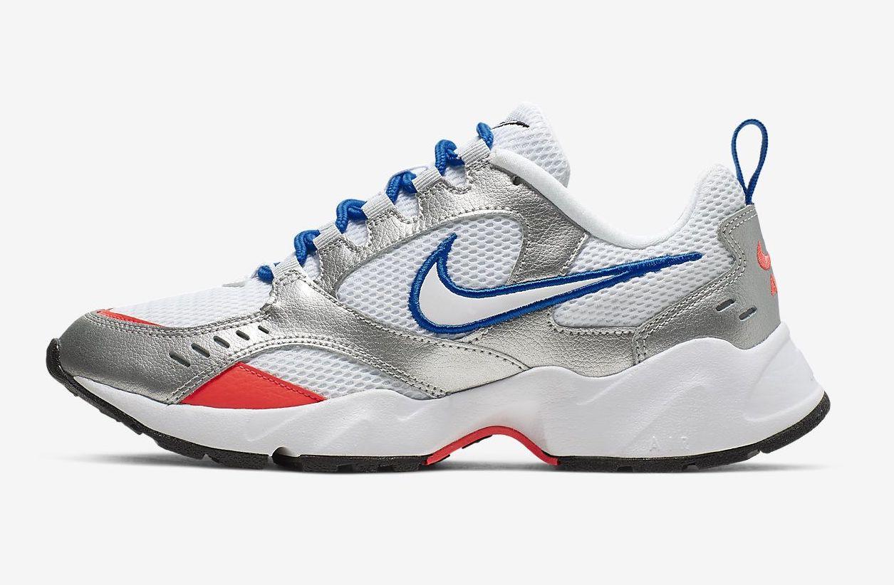 Nike Air Heights Metallic Silver]