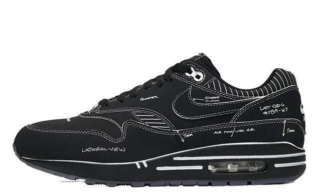 Nike Air Max 1 Tinker Schematic Black CJ4286-001