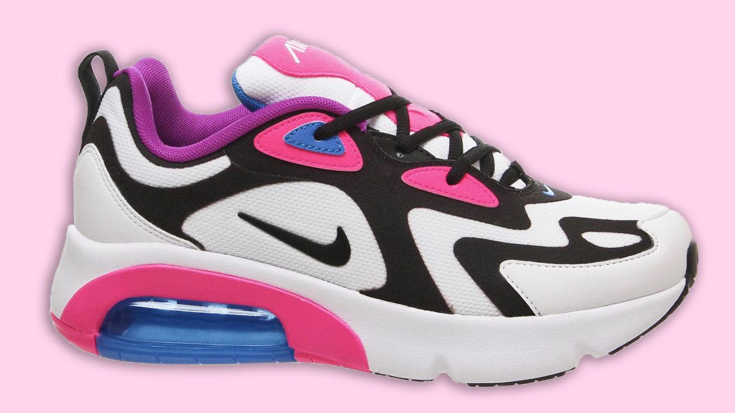 Flashes Of Hyper Pink Decorate The Nike Air Max 200 | Style