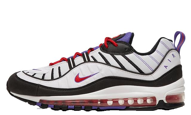 watch cfc33 23843 Nike Air Max 98 Psychic Purple | 640744-110