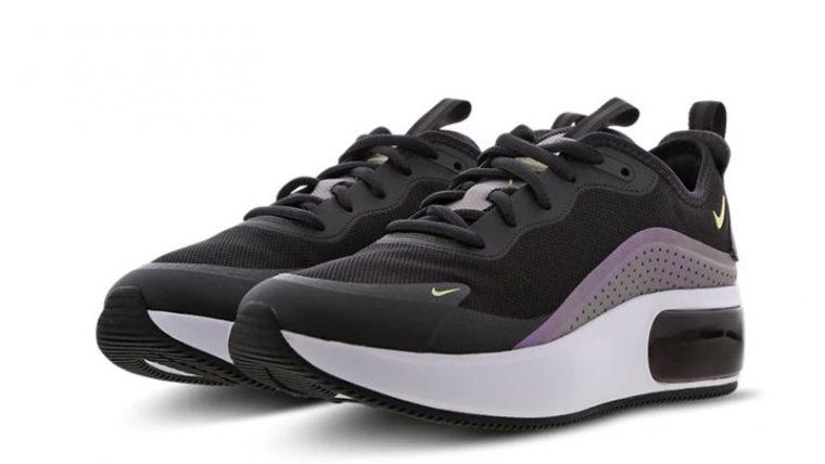 Nike Air Max Dia Black Purple front thumbnail image