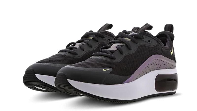 Nike Air Max Dia Black Purple front