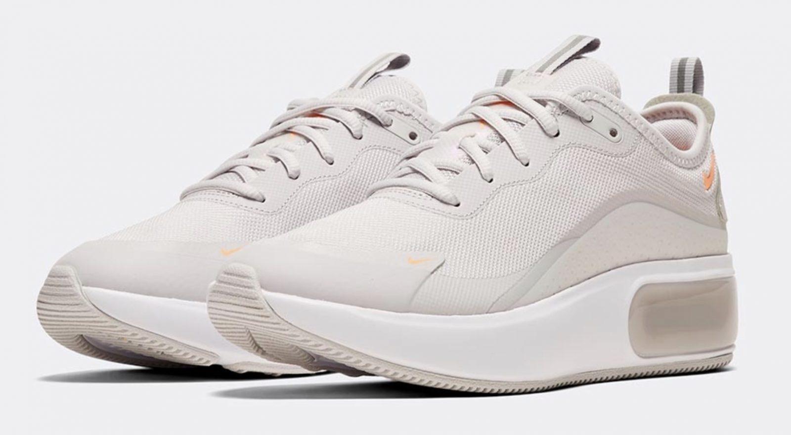 Nike Air Max Dia Grey Orange 4
