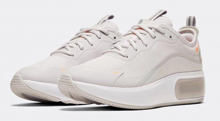 Nike Air Max Dia Grey Orange 4 thumbnail image
